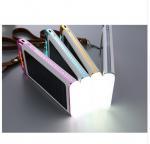 Solar charger power bank  3 USB 20000mah Newest solar energy flashlight power bank