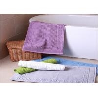 China Decorative Hotel Bath Mats / Plush Bathroom Rugs Washable Disposable wholesale