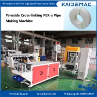 China 16 × 2.0mm Paroxide Cross-linking PEXa Pipe Production Machine /  Ram Exuder for PEXa Pipe Making wholesale