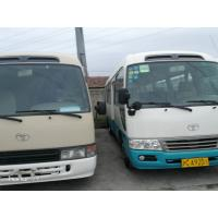China 22 Seats Second Hand Toyota Coaster Bus , 2013 Year Toyota Coaster Used Japan wholesale