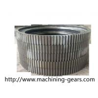 China Cylindrical Large Diameter Gears Aluminium Alloys Ring External Spur Gear wholesale