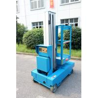 Quality Blue Self Propelled Aerial Lift Single Mast Self Propelled With 5 m Working for sale