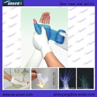 China High Polymer Bandage Aid Bandaging with Water-repellent Fiberglass Orthopedic foot splint polyester wholesale