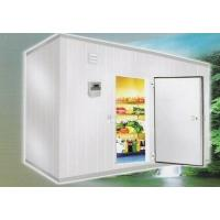 China Cold Room Storage 105 Cubic Meter 6m * 7m * 2.5m With Valley Wheel Compressor wholesale
