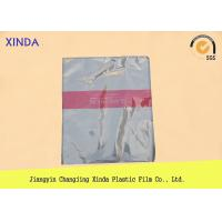 China Breathable die cut handle flat bottom clear bags with a air hole perfect quality wholesale