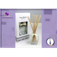 Quality Luxury Transparent 80ml Apple Essential Oil Reed Diffuser For Living Room for sale