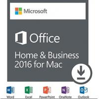 China Microsoft MAC Office 2016 Home & Business Full Version For MAC license Online activation wholesale