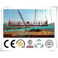 China Hanging Scaffold Wind Tower Production Line , Aluminum Steel Suspended Working Platform wholesale