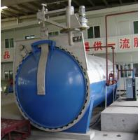 Quality Automatic Glass Industrial Autoclave with hydraulic pressure opening door for sale
