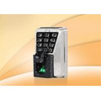 China Waterproof IP65 Fingerprint Access Control System With Keypad Multi Authentication wholesale