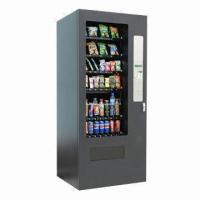 China Vending Machine, Adjustable shelves, Cascade Merchandise up to 60 Selections wholesale