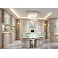 Buy cheap Elegant Stainless Steel Showroom Jewellery Display Counter 1325X550X950MM from wholesalers