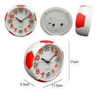 China Mini Round Football Shape Alarm Clock wholesale