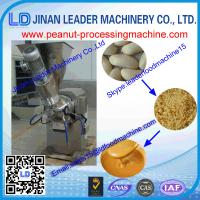 China high capacity stainless steel peanut butter grinder machine for grinding groundnuts wholesale