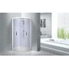 China Cheap , Popular luxury shower cabin ,  Chrome Aluminium Quadrant Shower cabin wholesale