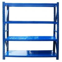 China Rust Resistance Steel Longspan Racking Quick Assembly For Motorcycle Parts / Auto Accessories wholesale