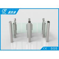 China Face Recoginition Swing Stainless Steel Turnstiles Smart Controlled For Gym Pub wholesale