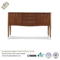 China Vintage Wooden Top Drawers half round console table Sideboard Cabinet for Living Room Furniture wholesale