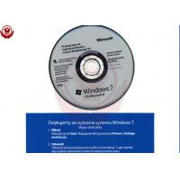 China Microsoft Office Pro W7 Coa Windows 7 Professional Full Version With Genuine COA Key Sticker wholesale