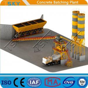 China TSKY MS1000 Mixer 60m3/h HZS60 RMC Batching Plant wholesale