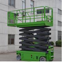China 230Kg Loading Capacity Self Propelled Scissor Lift With Extension Working Platform on sale