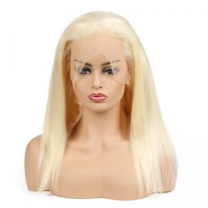 "China 22"" 613 Blonde HD Full Lace Human Hair Wigs No Split wholesale"