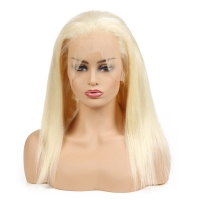 """Buy cheap 22"""" 613 Blonde HD Full Lace Human Hair Wigs No Split from wholesalers"""