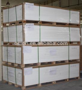 China 5mm pvc rigid sheet celluka board on sale