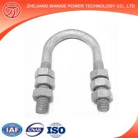 China Hot-dip galvanized steel u bolt clamps wholesale
