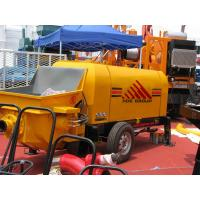 China 60m3/h Diesel Engine Concrete Pump Trailer Mounted Concrete Pump wholesale
