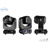 China 50Hz 90W Spot Moving Head Light for night club / 9 Colors and 8 gobos wholesale