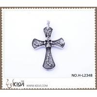 China 316 stainless steel pendant with cross shape H-L2348 wholesale