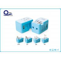 China 4 In 1 Universal Electrical Power Plugs And Adaptors Double LED Auto Protection wholesale