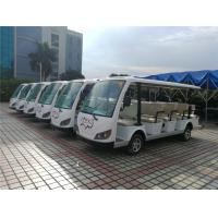 China 14 Seater Electric Sightseeing Bus , 72v Electric Shuttle Car  for Exhibition on sale
