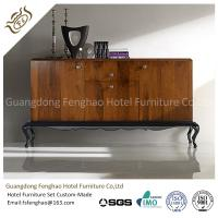 China Antique Vintage Wood Console Table Cabinet With  Drawers For Home Storage wholesale