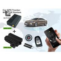 China Passive Keyless Entry PKE Push Button Engine Start / Stop Button Systems With GPS wholesale
