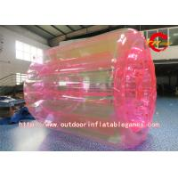 China Colorful Inflatable Zorb Ball , Transparent Inflatable Water Roller Ball For Kids wholesale