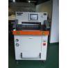 China DB-490V8-1 49cm A4 Paper Cutting Machine With Hydraulic Program Control wholesale