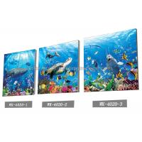 China Sea World Pictures Lenticular Printing Services 3D Picture House Decoration wholesale