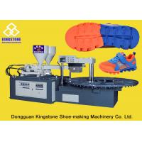 Automatic Single / Double Color Shoe Sole Making Machine Two Density