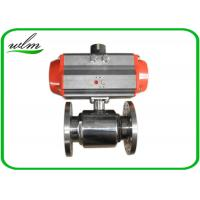 Quality Elegant Design Sanitary Ball Valves Stainless Steel , Pneumatic Actuated Ball Valve for sale
