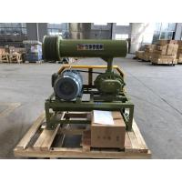 China 1.5KW-15KW BK Type Three Lobes Roots Blower Of Army Green With Low Noise And Economical Energy Consumption wholesale