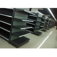China OEM high quality and commercial gondola shelving used wholesale