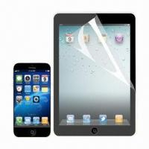 China Anti-fingerprint/-glare Screen Protector for iPad Mini, Made of PET Material on sale