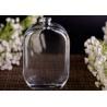 China 104ml Oblate Shape Small Decorative Custom Perfume Bottles , Perfume Glass Bottles wholesale