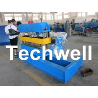 China Hydraulic Custom PLC Control Roof Curving Machine With Speed Adjustable wholesale
