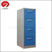 China Fashional No Screw Knock-down Design lockable Steel 4 Drawer File cabinet for sale wholesale