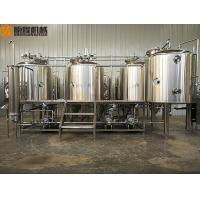 Quality Simple Clean Beer Brewing System 2B Finished Surface With 1000L Brite Tank for sale