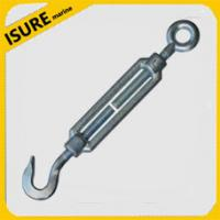 China Stainless Steel Hook Eye Turnbuckle Rigging Screws Silver on sale