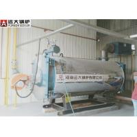 Diesel Oil Fired Boiler 100 / 0000 Kcal Boiler Heater 0.8 Mpa Rated Working Pressure